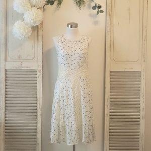 Anthropologie Floreat sheer lace floral dress